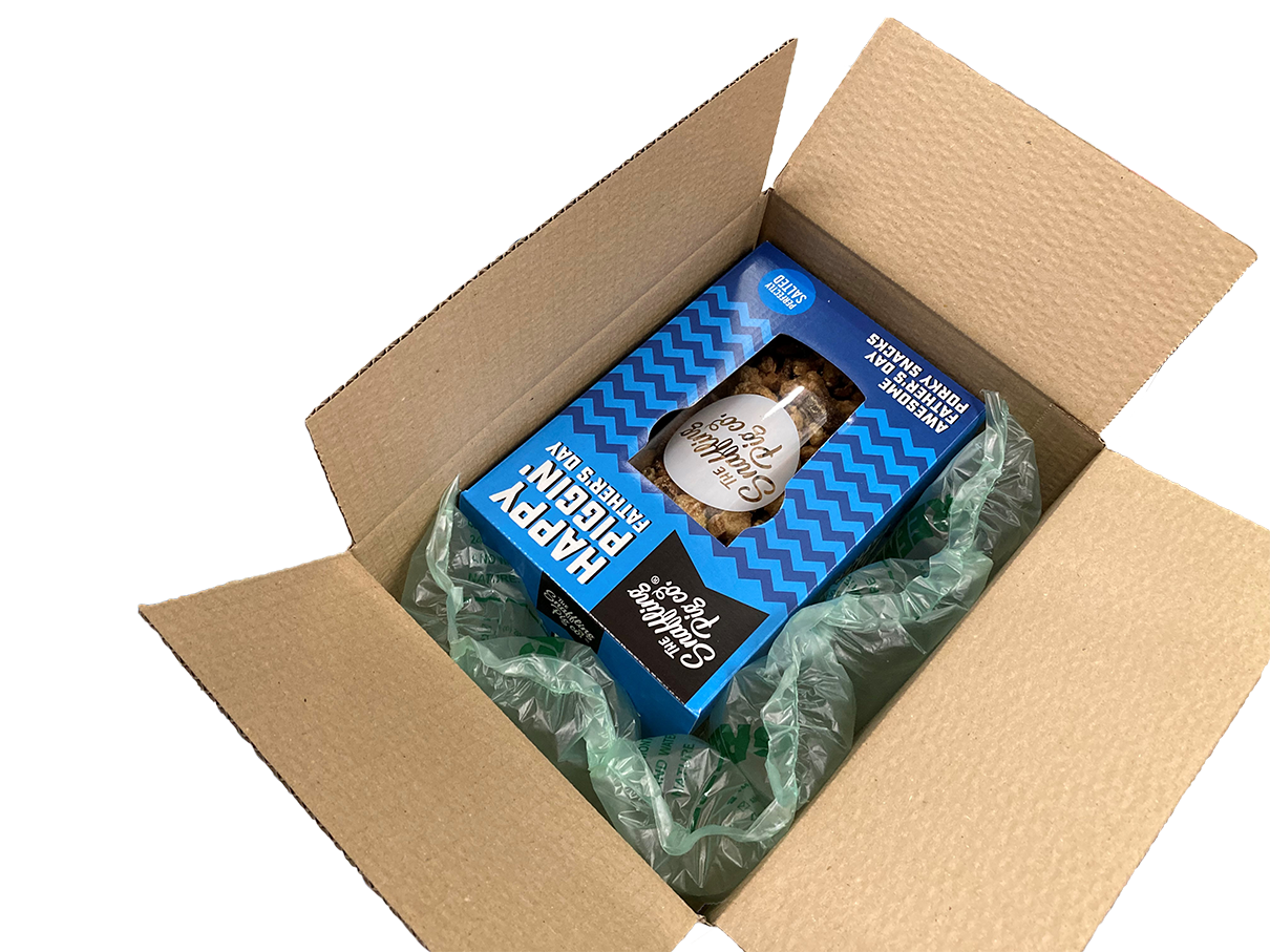 Snaffling Pig's product in a box