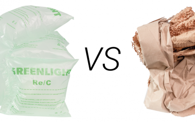 Paper or plastic for protective packaging?