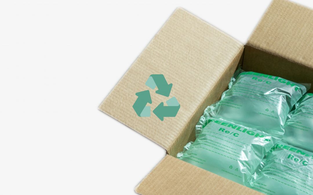 How to recycle air cushion packaging